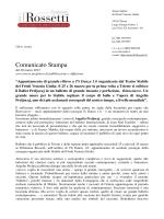 Comunicato Stampa - Il Giornale del Friuli