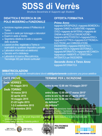 Cartolina a.a. 2015-2016 - Politecnico di Torino
