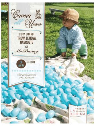 caccia all` uovo - Agriturismo La Borina
