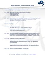 PROGRAMMA CORSO BASE INERGETIX CORE SYSTEM - Bio
