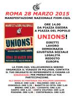 UNIONS - ORARI.pdf - Fiom