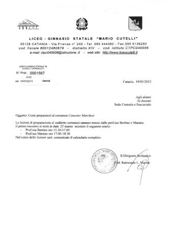 circ. prot. 1567.pdf - Liceo Classico