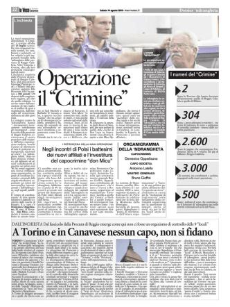 A Torino e in Canavese nessun capo, non si fidano