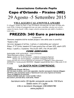 Programma Sicilia - Associazione Pepila