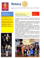 bollettino n.28 - Rotary Appiano Gentile