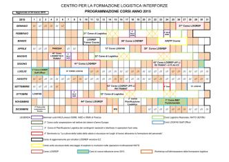 calendariocorsi2015 - Ministero della Difesa