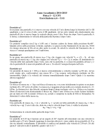 Esercitazione n° 6 2015