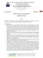 Consulta il bando - Istituto Guglielmo Marconi