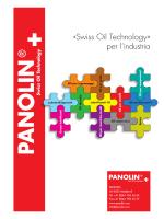«Swiss Oil Technology» per l`industria