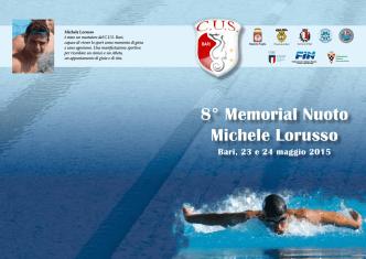 8° Memorial Nuoto Michele Lorusso Bari, 23 e 24 maggio