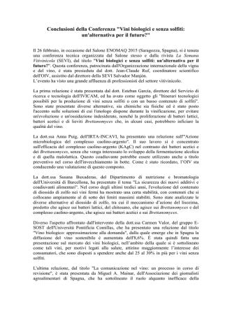 Conclusions de la Conférence