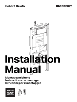 Montageanleitung Instructions de montage Istruzioni per il
