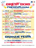presentazione GREST 2015.cdr - Pastorale giovanile diocesi di Como