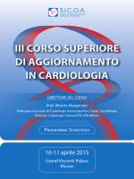 iii corso superiore di aggiornamento in cardiologia