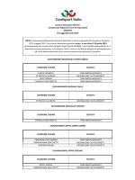 COGNOME E NOME SOCIETA` CARCIA