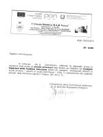 Approvazione Elenchi Provvisori per l`Elezione del Consiglio