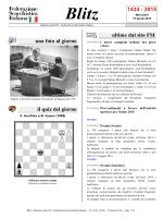 Blitz - Federazione Scacchistica Italiana