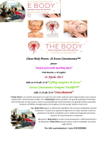 """Access Consciousness Energetic facelift"" e Corso"