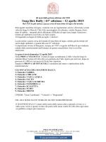 Soap Box Rally | 43° edizione - 12 aprile 2015
