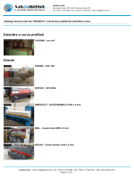 Accessori ed asservimenti per presse Calandre e