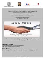 Seminario Social Robots