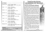 Comunità Parrocchiale di Rovellasca la nostRa settimana