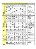 東京都立大塚病院外来診療スケジュール