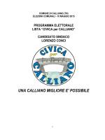 Scarica il programma - Civica per Calliano