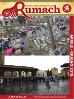 APRILE - GIUGNO 2015 - Gruppo Archeologico Romano