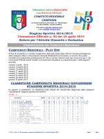 C.U. S.G.S. n. 50 del 10.04.2015