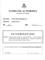 determinazione nl - Comune di Formia