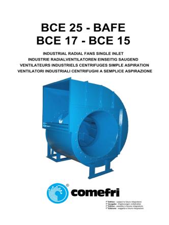 BCE 25 - BAFE BCE 17