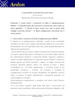 Luca Ferrucci, Le potenzialità economiche dei - Aedon