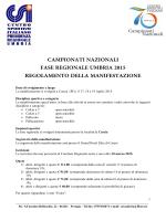 Regolamento Finali Regionali 2015
