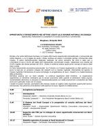 Programma - Eurosportello Veneto