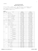 お客様各位 IDC COLLECTION CATALOGUE 価格改定;pdf