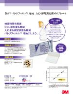 3M™ ペトリフィルム ™ 培地 カビ・酵母測定用YMプレート 検査時間も
