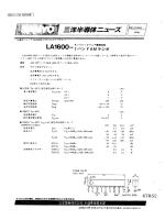 LA1600-1バンドAMラジオ