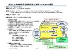 次世代化学材料評価技術研究組合(略称 CEREBA)の概要