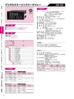 デジタルスケーリングメータリレー AM-123