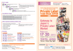 第7回 国際PB・OEM開発展 出展案内(英語) 【2.7MB】