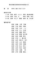 第46回鹿児島県東西対抗剣道大会優秀試合賞・優秀選手賞