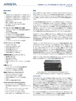 7050SX シリーズ 10/40GbE データセンター・スイッチ