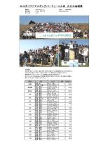 2014ダイワペアエギングパーティーin九州 大分大会結果