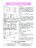 INCONEL® alloy 718;pdf