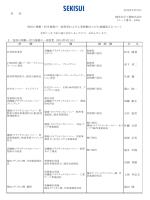 各 位 Ⅰ.役員の異動・担当業務の一部変更(2014年3月