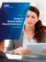 Guide to Sustainability Report Assurance