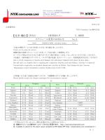 HERMA P V.005E スケジュール変更のお知らせ