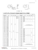 MS バックアップリング MS 28774 (旧ARP MS28775 Oリング対応)