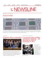 Vertical wonder CERN-KEK offices established A successful Linear